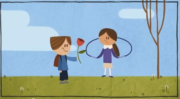 doodle google san valentin