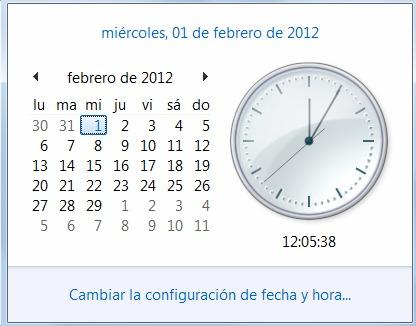 Febrero 2012 año bisiesto
