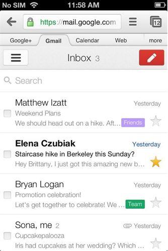 gmail cambia de apariencia