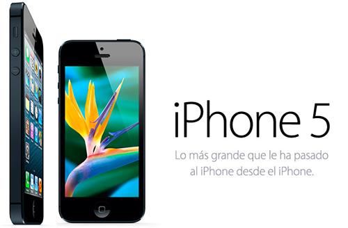 iphone 5 españa