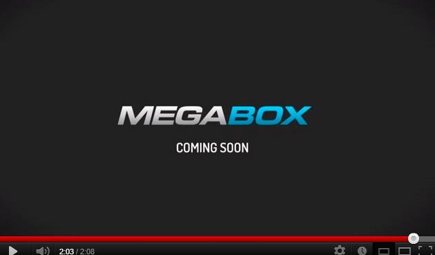 Megabox, disponible en enero