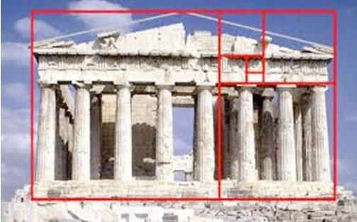 Partenón y la divina proporción