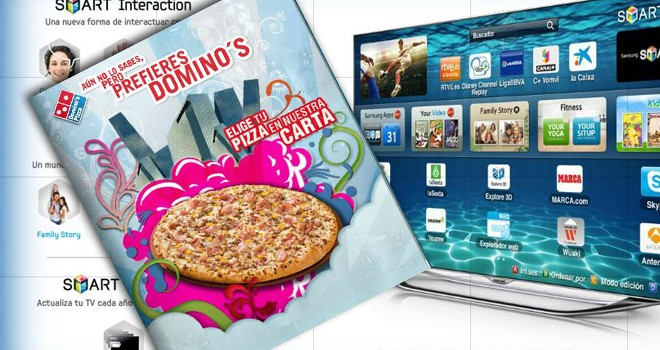 Pizza por la tele