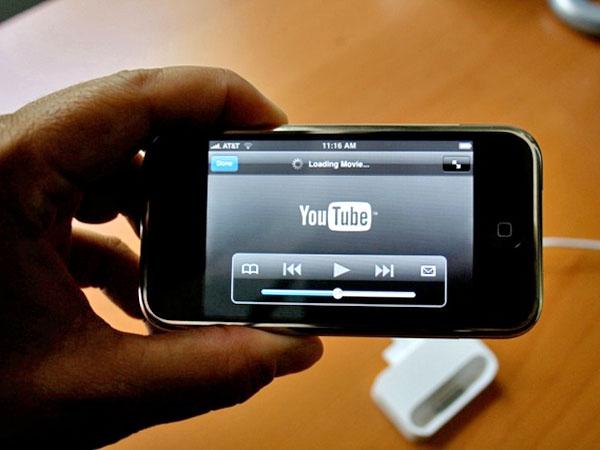 Youtube fuera del sistema operativo móvil de Apple